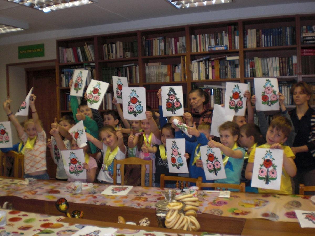 14 июня 2016 года в Детской библиотеке прошел мастер-класс