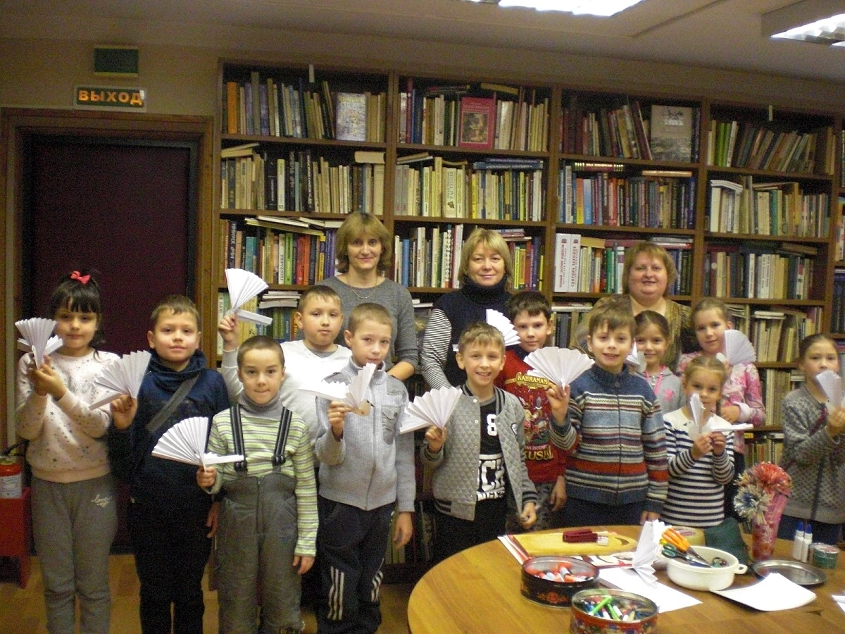 Осенние каникулы в Детской библиотеке.