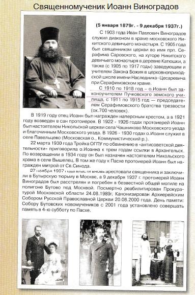 Краснополянская библиотека-основатель Иоанн Виноградов