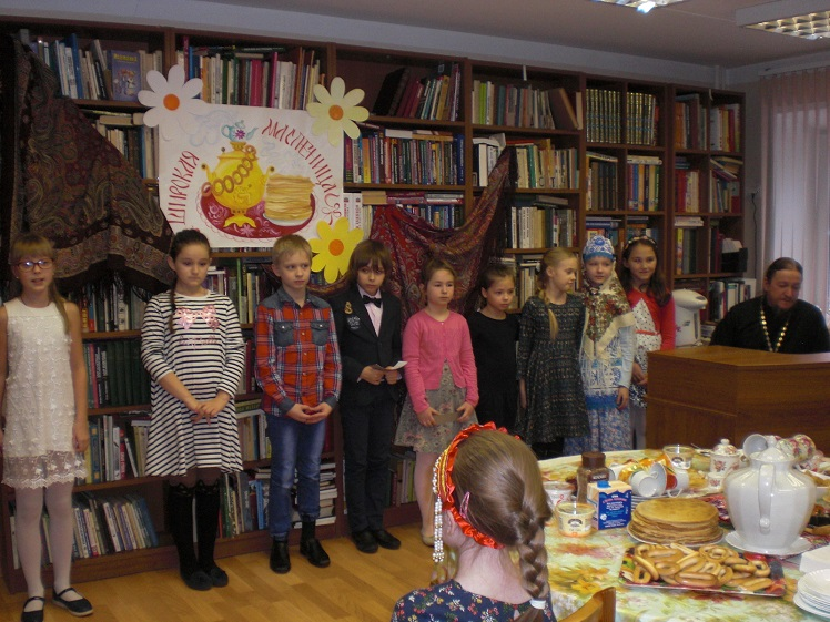 Празднование Масленицы в Детской библиотеке_2