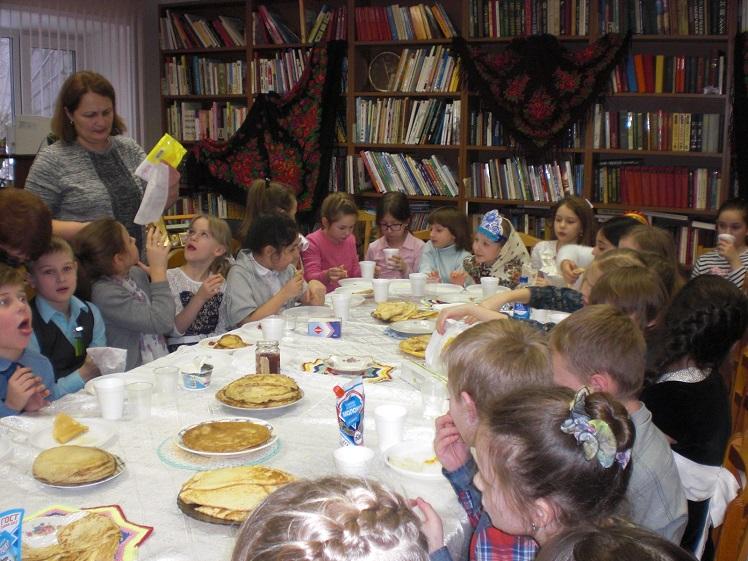 Празднование Масленицы в Детской библиотеке_5