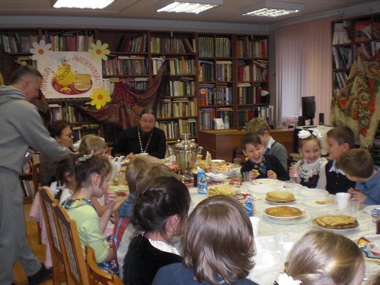 Празднование Масленицы в Детской библиотеке_6