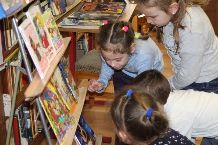Экскурсия в Детской библиотеке