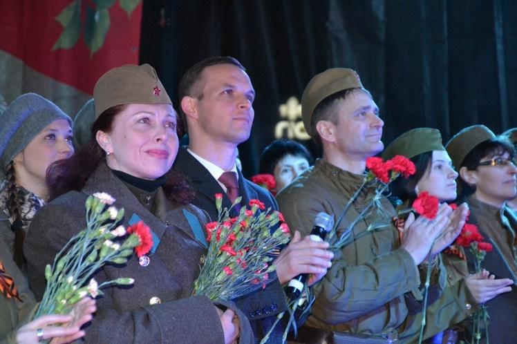 День Победы-салют в Лобне