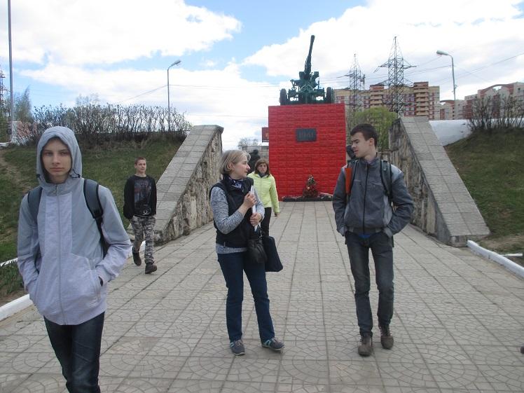 Экскурсия по местам боевой славы Лобня СКОШ_5