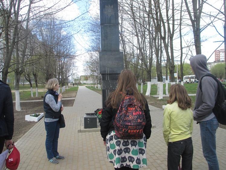 Экскурсия по местам боевой славы Лобня СКОШ_6