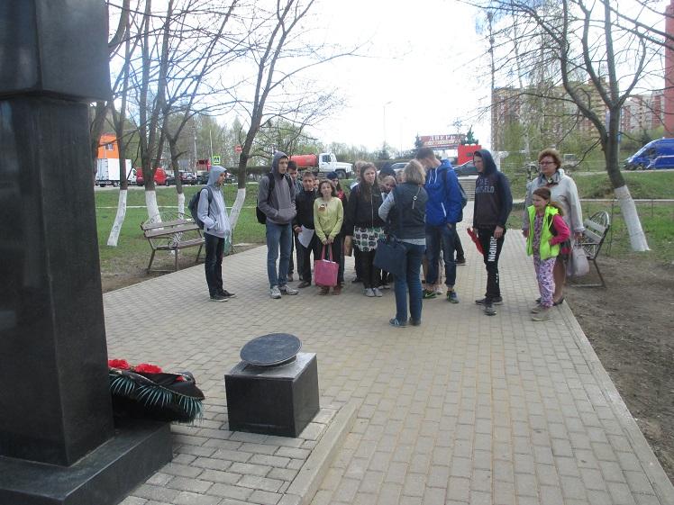 Экскурсия по местам боевой славы Лобня СКОШ_7