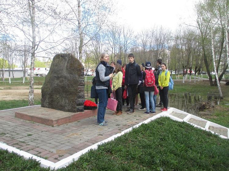 Экскурсия по местам боевой славы Лобня СКОШ_12