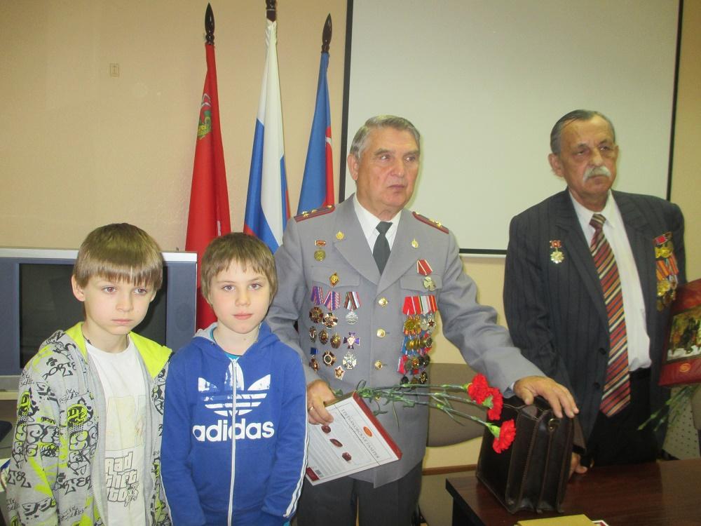 А.Ф. Поклад и С.П. Дашин - ветераны Полиции