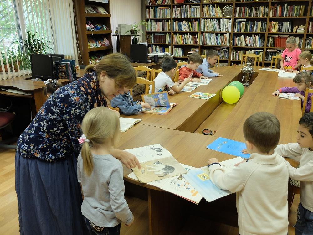 Маршак_Детская библиотека_Лобня