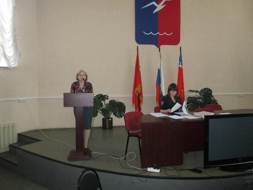 В.И. Белов и его творчество - беседа для сотрудников Полиции г. Лобня_1