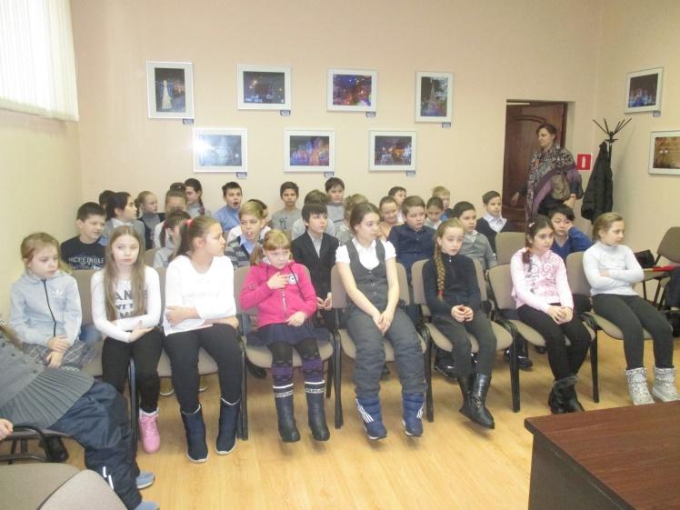 Их треплют, катают, а в зиму таскают - встреча с учащимися школы №8  3 Д и 4 Д классов 4