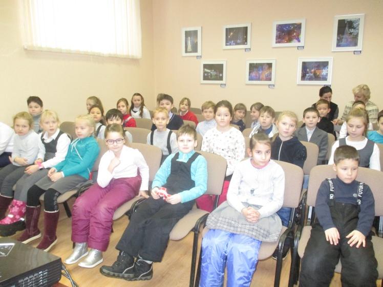 Их треплют, катают, а в зиму таскают - встреча с учащимися школы №8 1 Г и 2 Г классов - Центральная библиотека