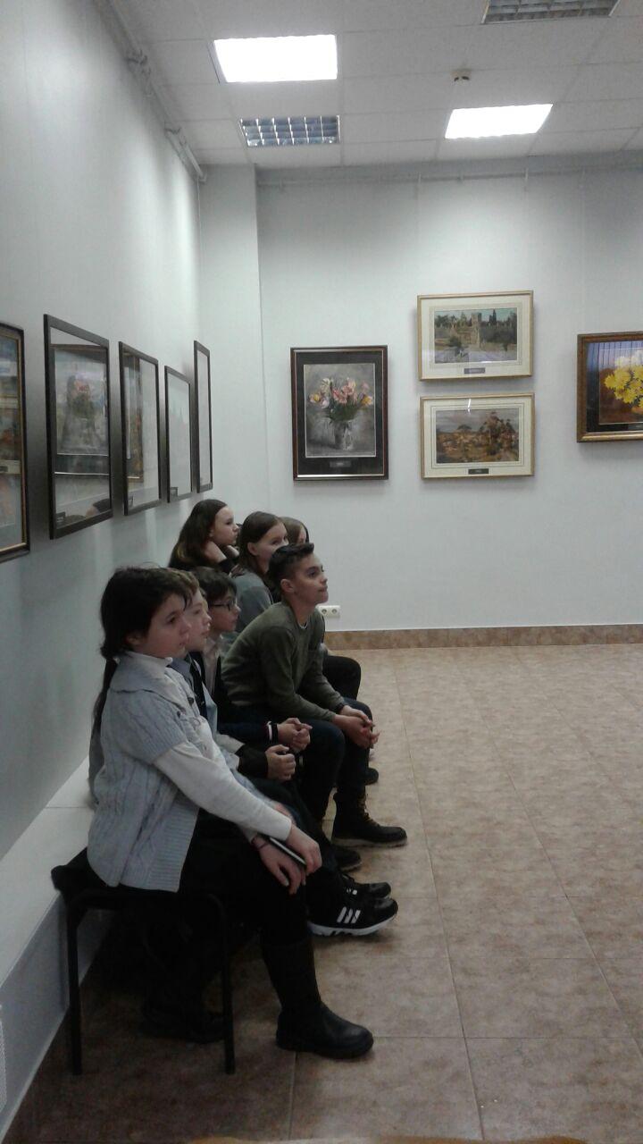 Экскурсия в художественную галерею