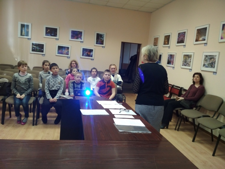 Дочь полка - встреча с учащимися школы №3 2 А класса - Центральная библиотека