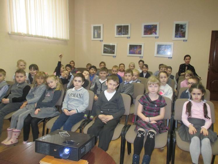 Богиня здоровья - Гигиея - встреча с учащимися школы №8 1А и 1Г классов 2