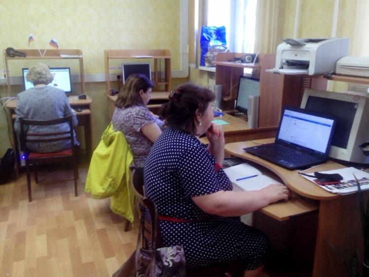Компьютерные курсы - Центральная библиотека - 5.05.2018 3