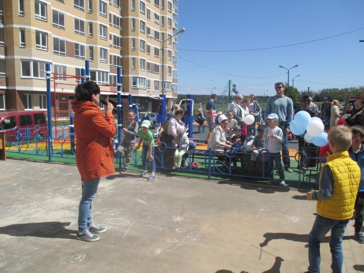 Открытие Детской площадки на пр. Свободный_30