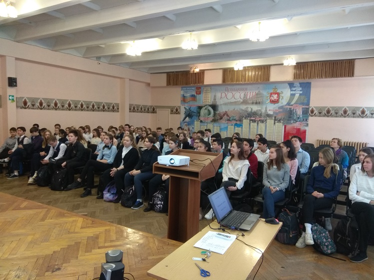 Центральная библиотека - Лобненский рубеж обороны Москвы для 8-х классов