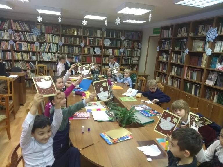 """""""Рождественские чтения"""" в Детской библиотеке"""