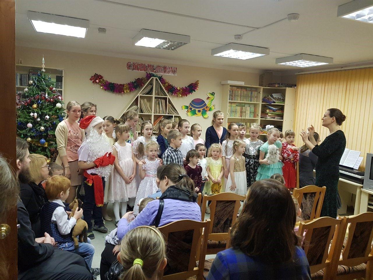 """Праздник """"Рождество Христово"""" в Детской библиотеке"""
