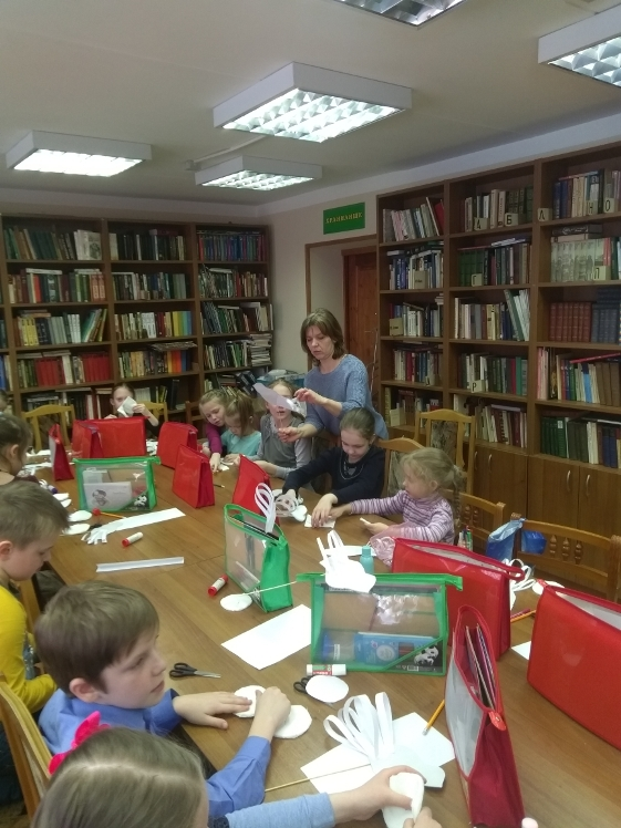 Рукам работа – сердцу радость - Детская библиотека (8)