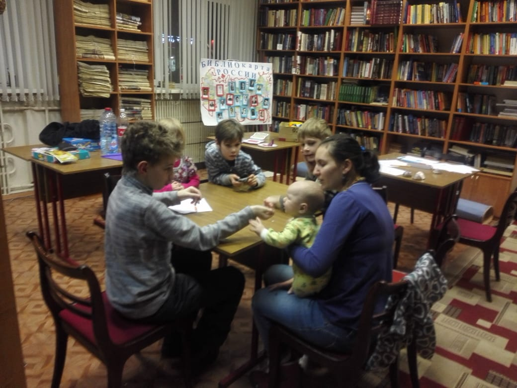 Игровой клуб многодетных мам - Центральная библиотека (2)