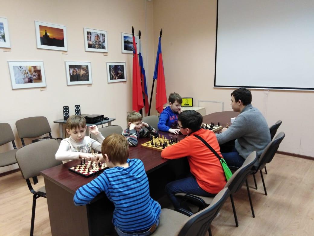 Шахматный турнир - Центральная библиотека (1)