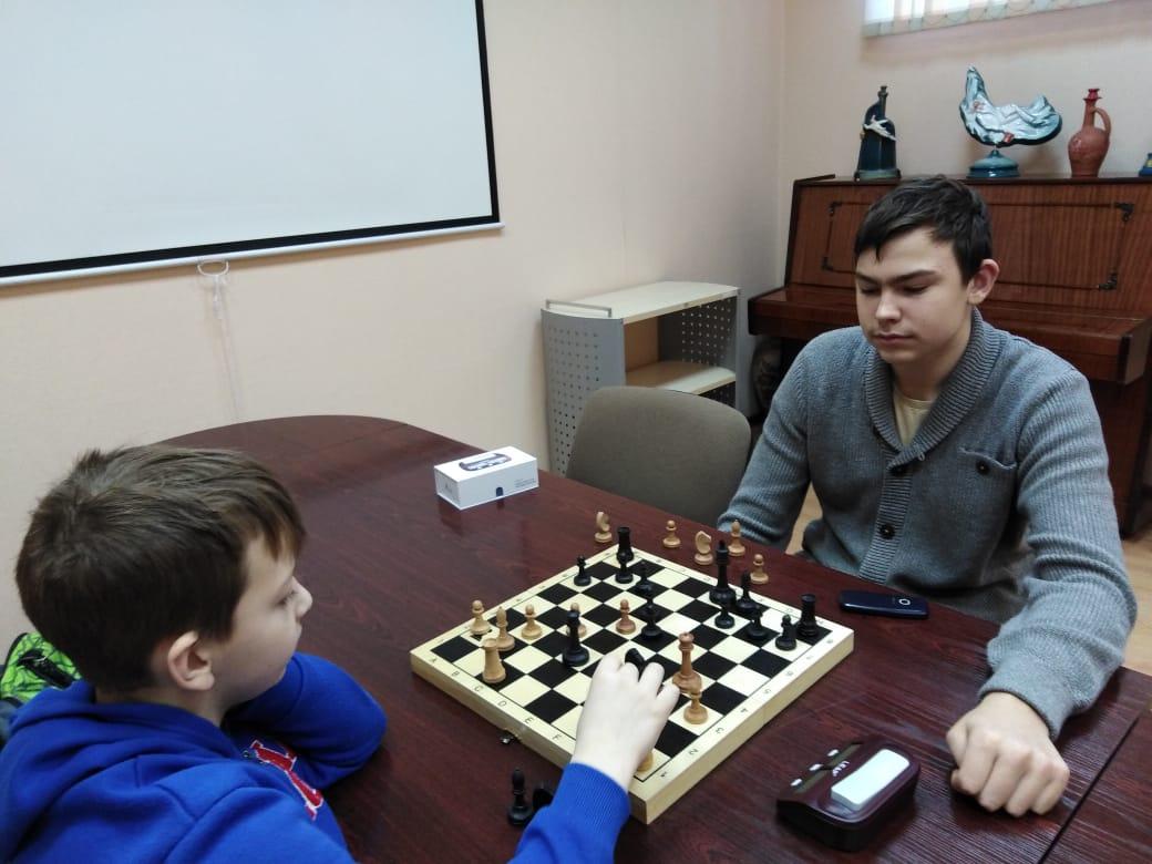 Шахматный турнир - Центральная библиотека (2)