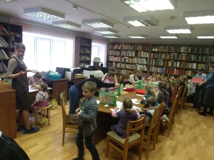 Воскресные занятия в Детской библиотеке 3.03 (9)