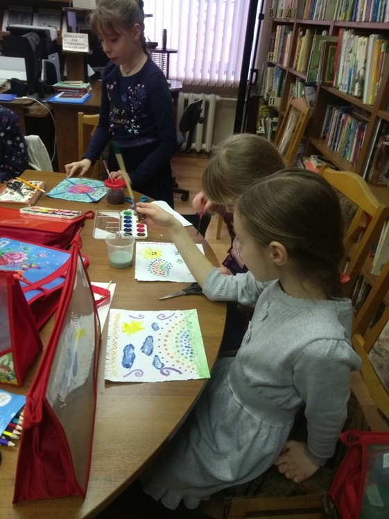 Воскресные занятия в Детской библиотеке 3.03 (8)