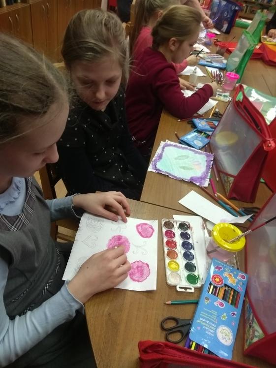 Воскресные занятия в Детской библиотеке 3.03 (2)