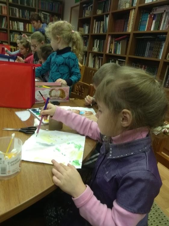 Воскресные занятия в Детской библиотеке 3.03 (3)