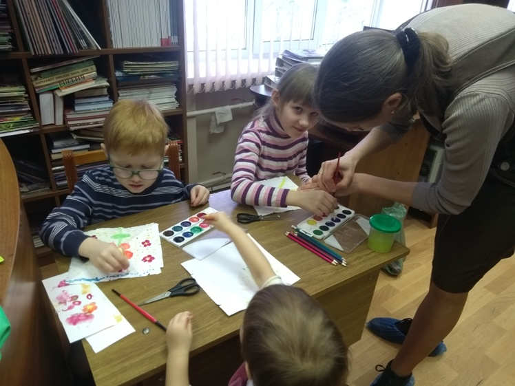 Воскресные занятия в Детской библиотеке 3.03 (10)
