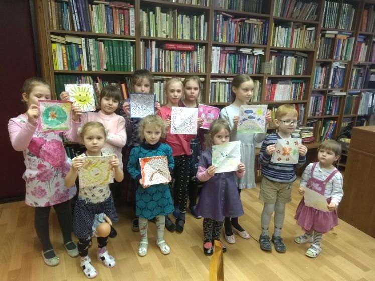 Воскресные занятия в Детской библиотеке 3.03 (1)