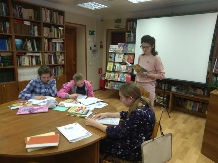 Воскресные занятия в Детской библиотеке
