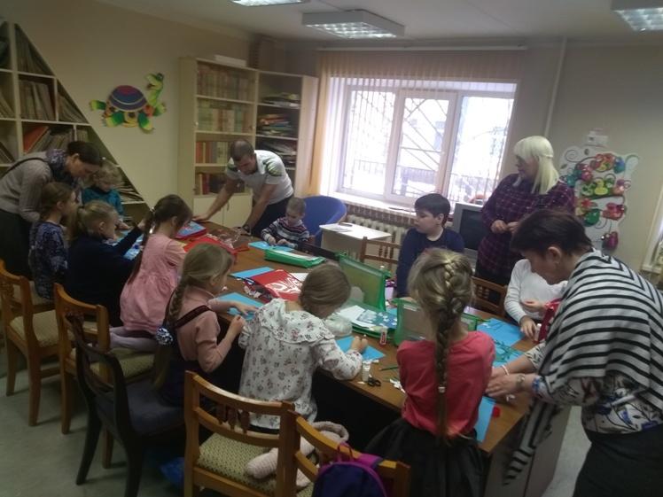 Воскресные занятия в Детской библиотеке 17.03 (9)