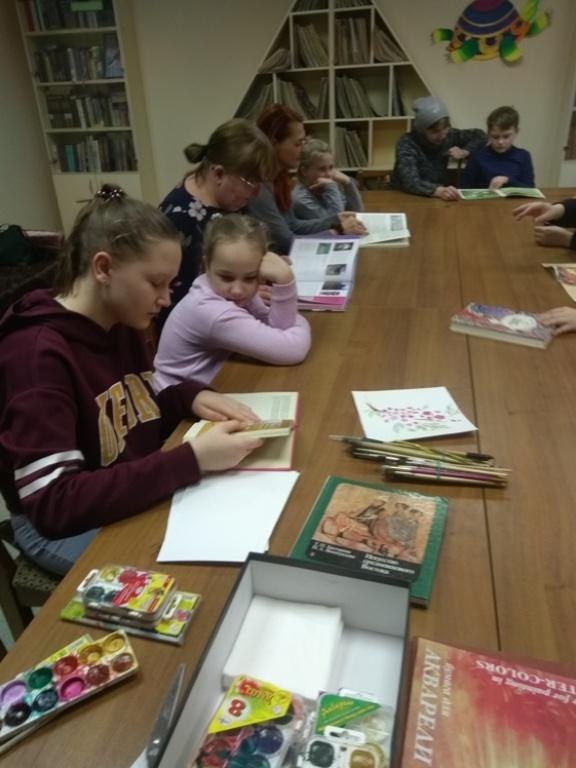 Японская живопись суми-э - Детская библиотека (8)