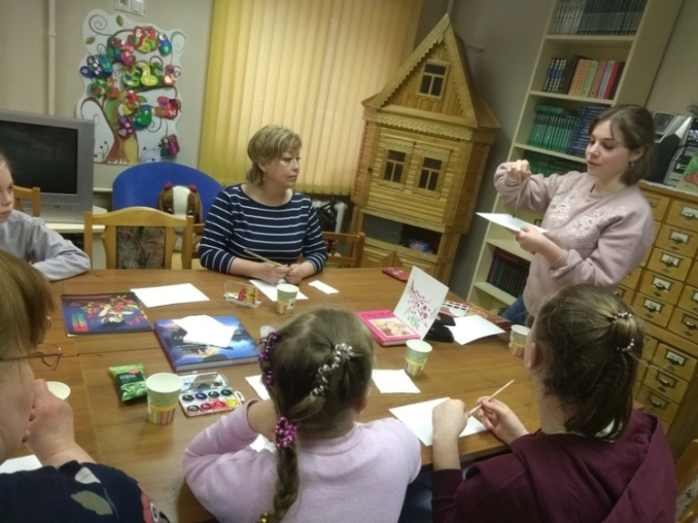 Японская живопись суми-э - Детская библиотека (7)