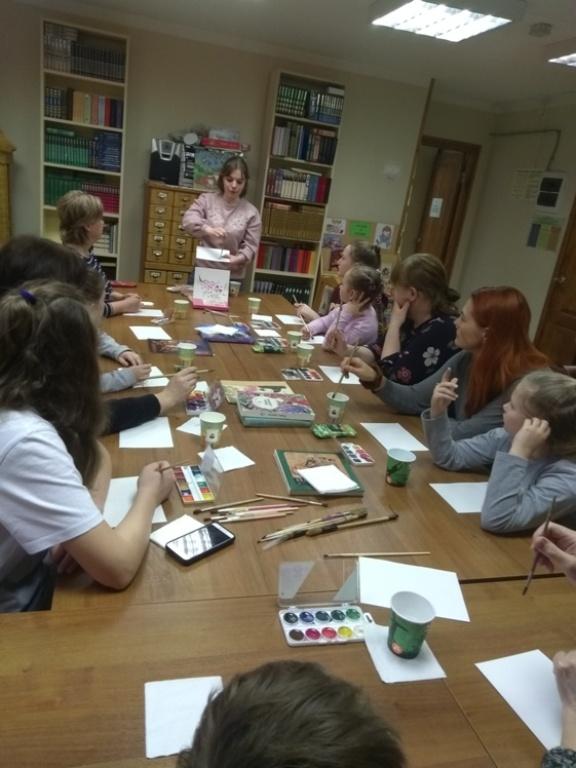 Японская живопись суми-э - Детская библиотека (6)