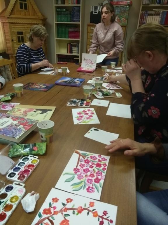 Японская живопись суми-э - Детская библиотека (4)