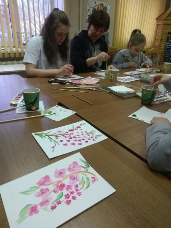 Японская живопись суми-э - Детская библиотека (3)