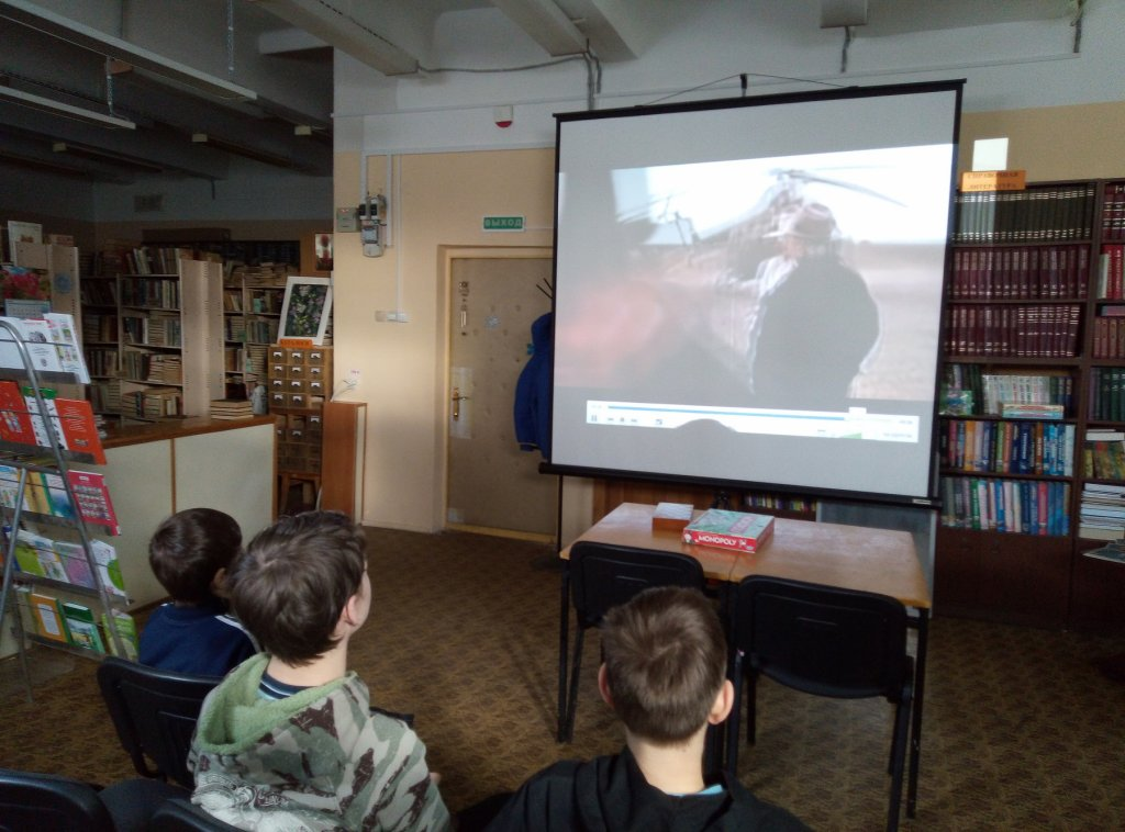 85- летию со дня рождения Ю. Гагарина - библиотека №5 мкрн. Южный