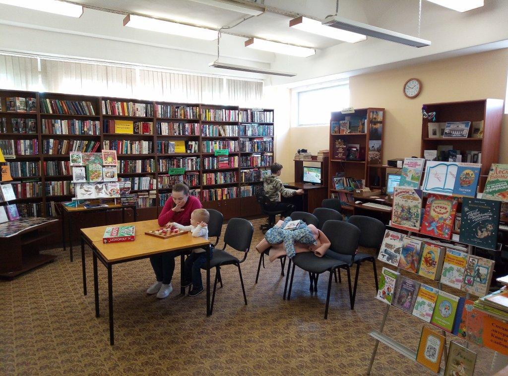 Игротека в библиотеке - библиотека №5 мкрн. Южный