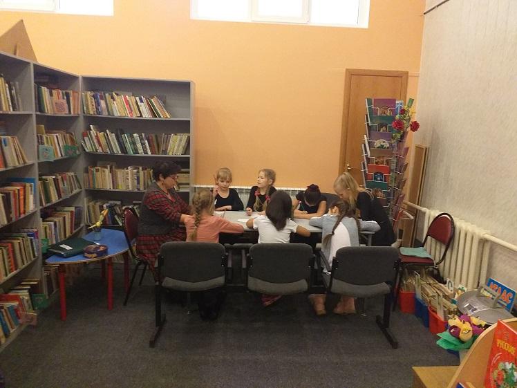 Клуб Почемучек - библиотека Луговая