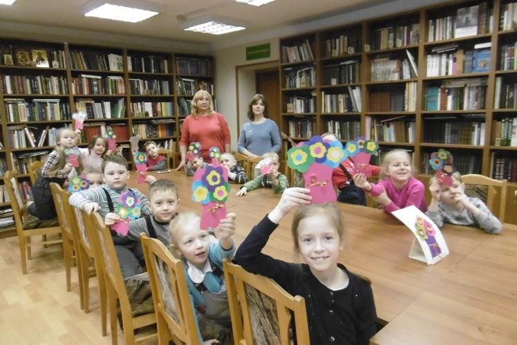Мамин день_Детская библиотека (8)
