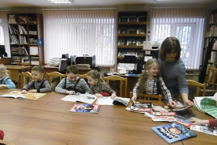 Мамин день_Детская библиотека (6)