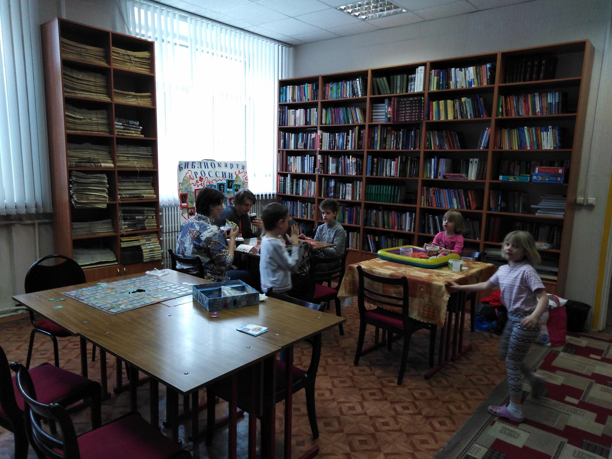 Игровой клуб многодетных мам - Центральная библиотека-1