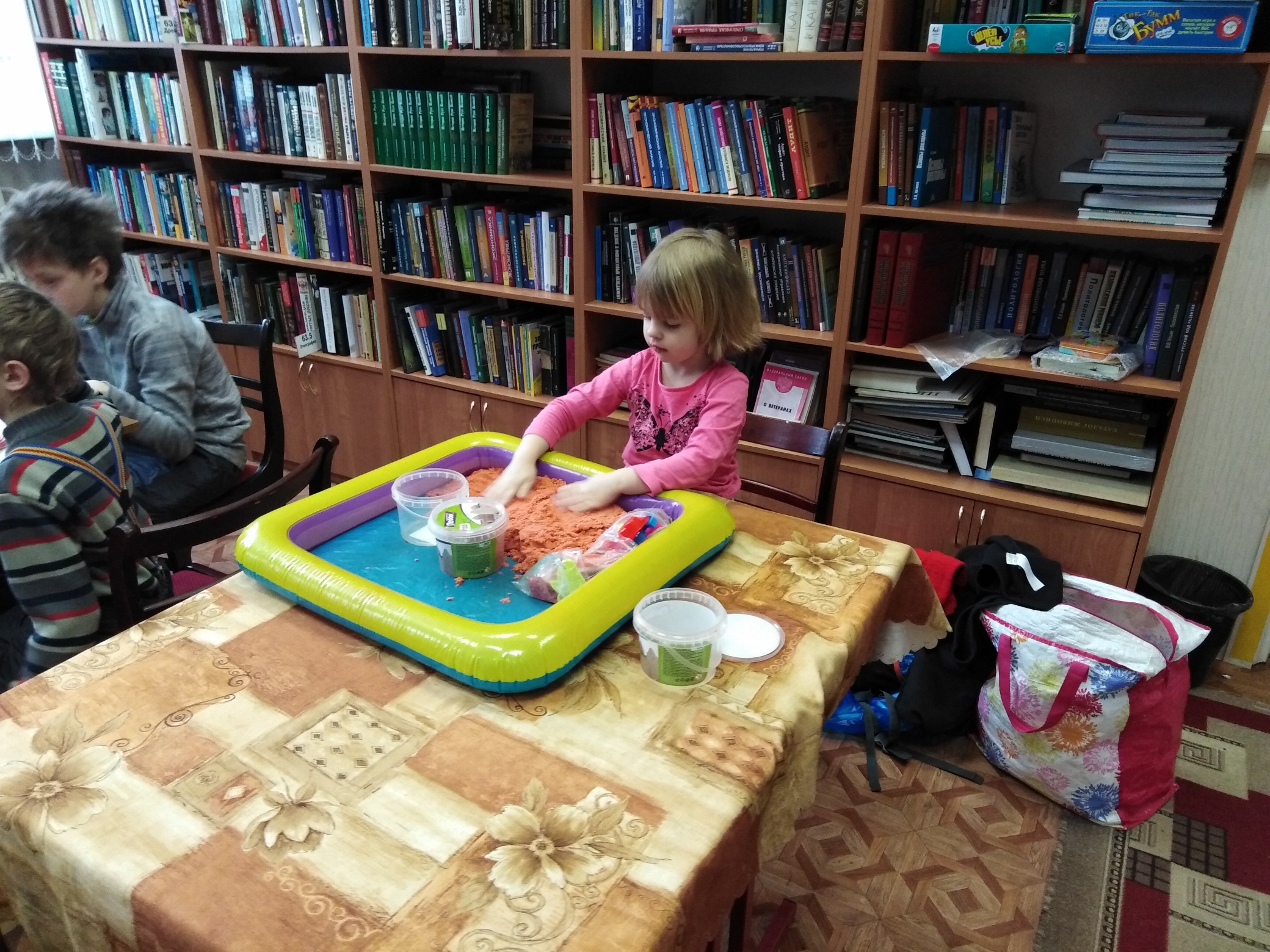 Игровой клуб многодетных мам - Центральная библиотека-3