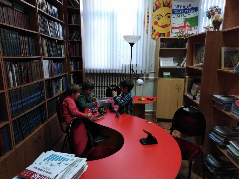 Игровой клуб многодетных мам - Центральная библиотека (5)